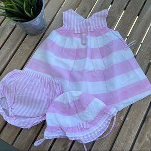 Dress pants hat 3 / 6 months Jacadi pink